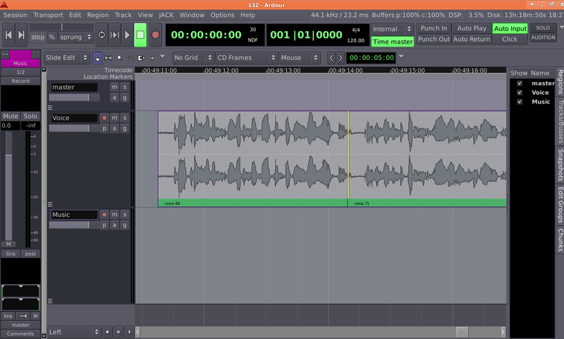 Ardour 5.7 Review - Free software DAW - michaelb