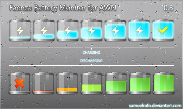 Awn Applet Battery