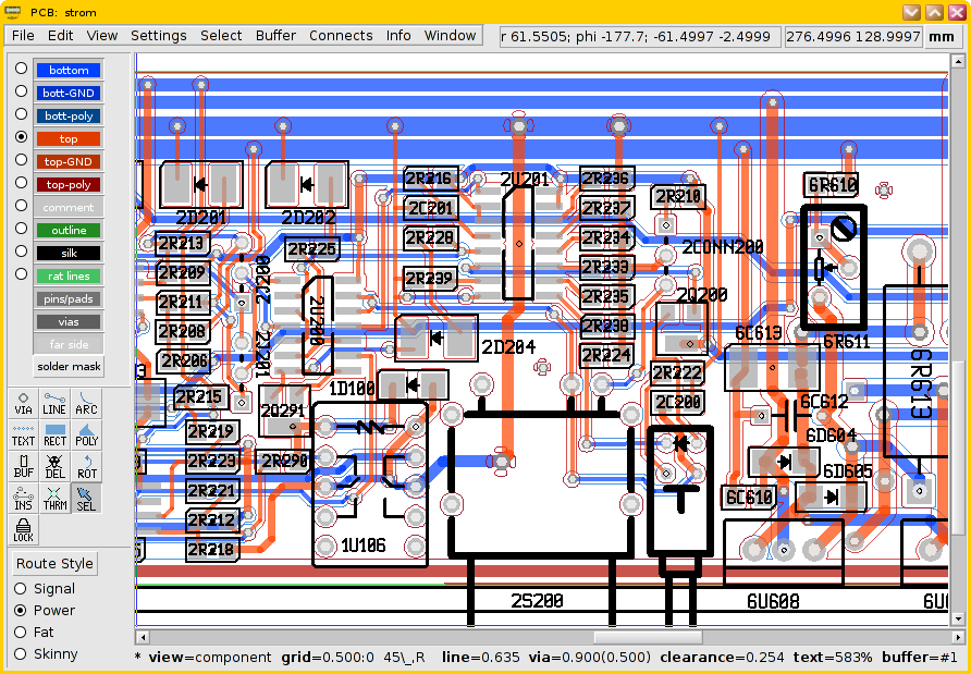 Electronics Layout Design Software