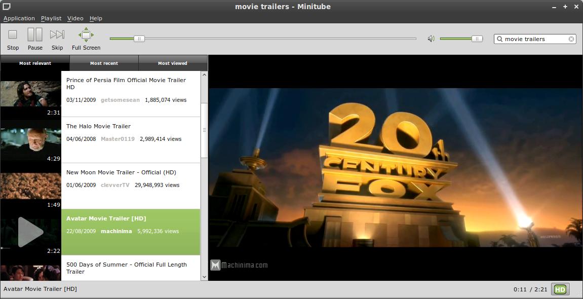 minitube - Linux Mint Community