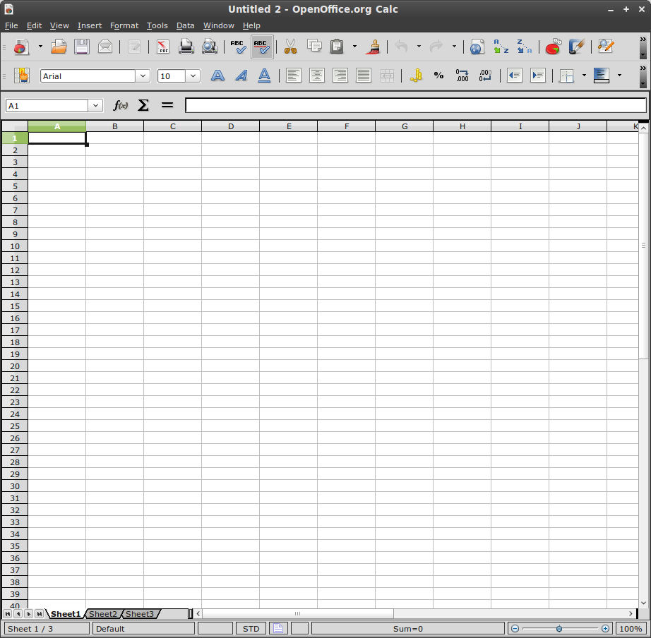 Linux mint community for Open office calc templates