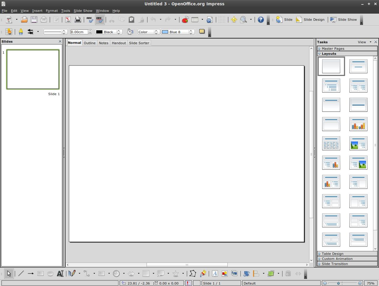 Linux mint community - Powerpoint avec open office ...