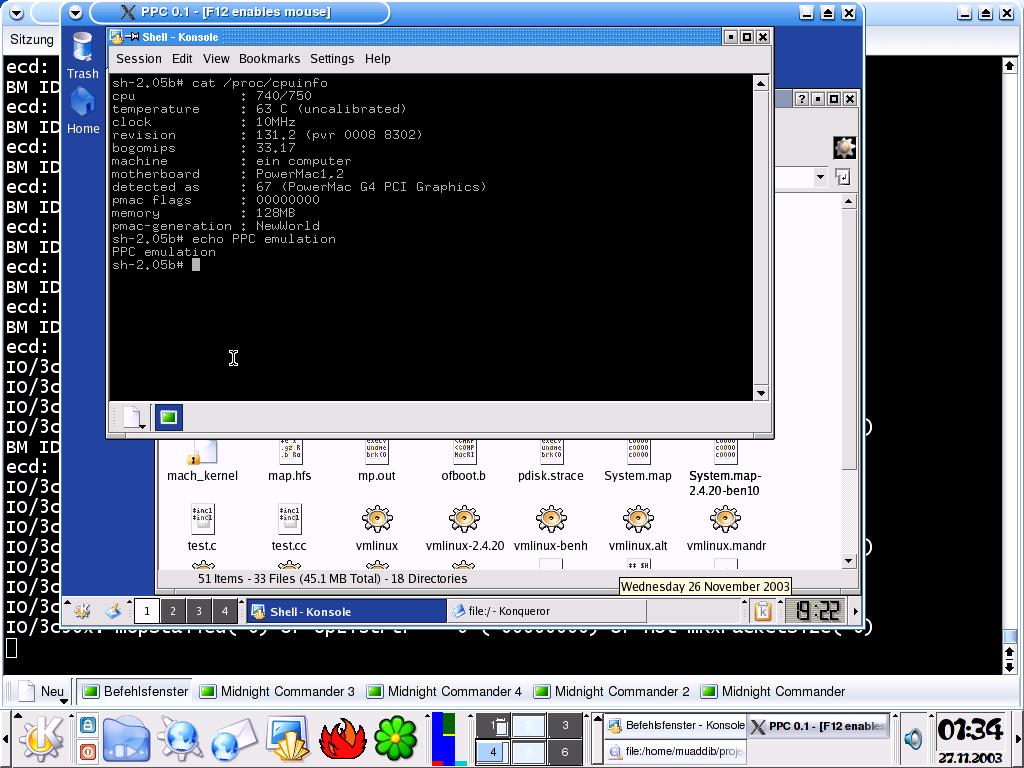 pearpc linux mint community