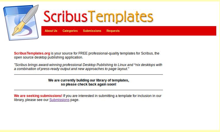 Scribus Templates Scribus 1 5 3 How To Create A Brochure Tutorial
