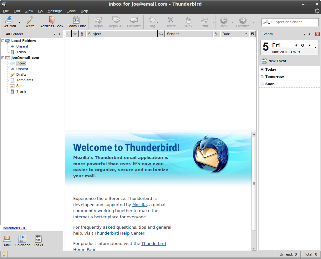 how to find email password on mozilla thunderbird