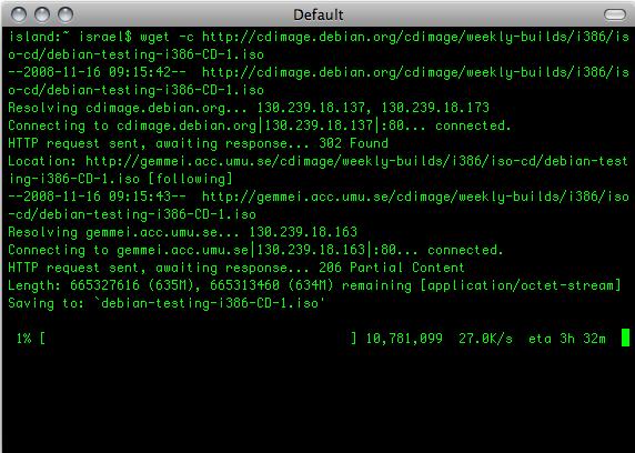 wget linux mint community